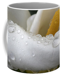 Calla Lily With Raindrops Coffee Mug
