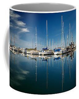 Calm Masts Coffee Mug by James Eddy
