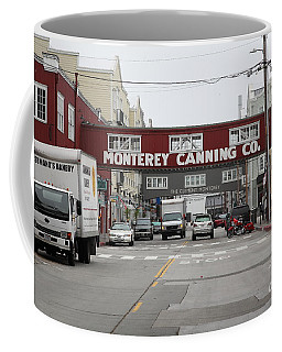 Calm Morning At Monterey Cannery Row California 5d24773 Coffee Mug
