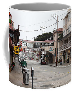 Calm Morning At Monterey Cannery Row California 5d24777 Coffee Mug