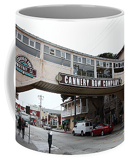 Calm Morning At Monterey Cannery Row California 5d24780 Coffee Mug