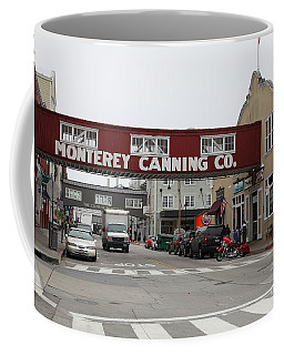 Calm Morning At Monterey Cannery Row California 5d24781 Coffee Mug