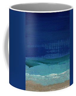 Calm Waters- Abstract Landscape Painting Coffee Mug