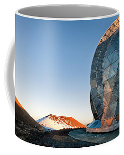 Coffee Mug featuring the photograph Caltech Submillimeter Observatory by Jim Thompson