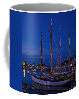 Camden Harbor Maine At 4am Coffee Mug by Marty Saccone