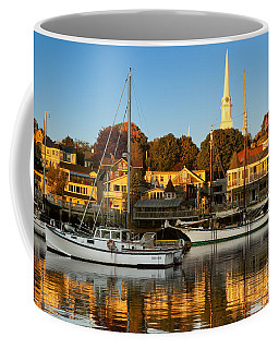Coffee Mug featuring the photograph Camden Maine by Brian Jannsen