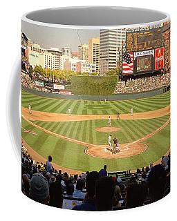 Camden Yards Baseball Game Baltimore Coffee Mug