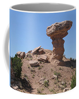Coffee Mug featuring the photograph Camel Rock - Natural Rock Formation by Dora Sofia Caputo Photographic Art and Design