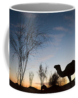 Camel Sunset Coffee Mug