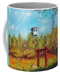 Camel Top Fire Tower Coffee Mug