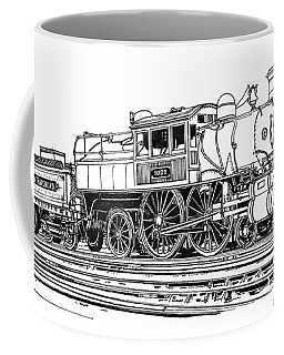 Camelback Engine Number 1027 Coffee Mug