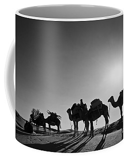 Camels Coffee Mug by Delphimages Photo Creations