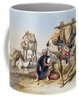 Camels Resting In The Sherkiyeh, Land Coffee Mug
