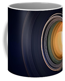 Camera Lens Background Coffee Mug