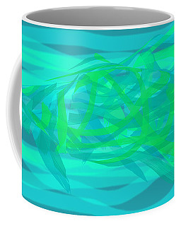 Coffee Mug featuring the digital art Camouflage Fish by Stephanie Grant