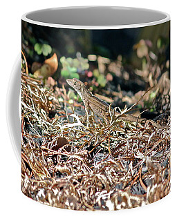 Camouflaged Lizard Coffee Mug