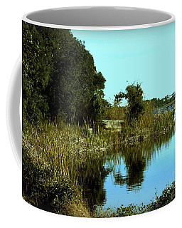 Camp Helen Coffee Mug by Debra Forand