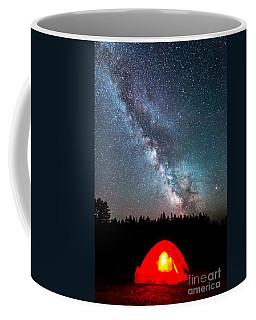 Camping At Night Coffee Mug