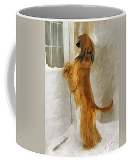 Can I Come In Now? Coffee Mug
