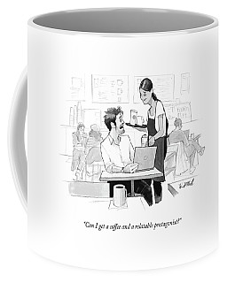 Can I Get A Coffee And A Relatable Protagonist? Coffee Mug