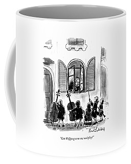 Can Wolfgang Come Out And Play? Coffee Mug