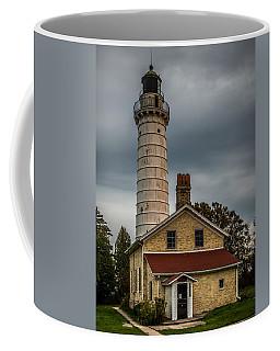 Cana Island Lighthouse By Paul Freidlund Coffee Mug