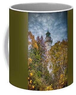 Cana Island Lighthouse II By Paul Freidlund Coffee Mug by Paul Freidlund