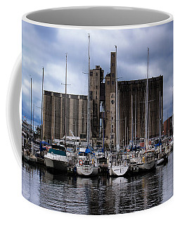 Canada Malting Silos Harbourfront Coffee Mug by Nicky Jameson