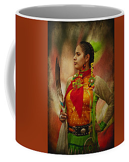 Canadian Aboriginal Woman Coffee Mug