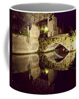Canal Bridge Reflection Coffee Mug