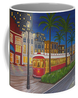 Canal Street Car Line Coffee Mug