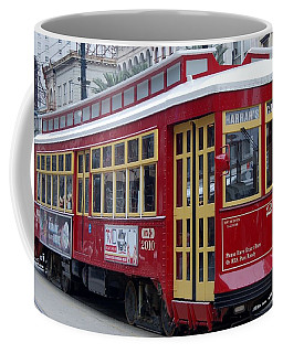 Canal Streetcar Nola Coffee Mug