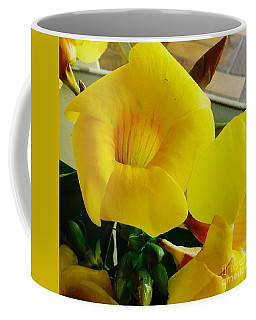 Canario Flower Coffee Mug by The Art of Alice Terrill