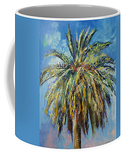 Canary Island Date Palm Coffee Mug