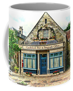 Coffee Mug featuring the photograph Candleford Post Office by Paul Gulliver