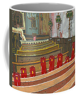 Candles In Cinque Terra Coffee Mug