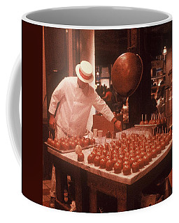 Coffee Mug featuring the photograph Candy Apple Man by Rodney Lee Williams
