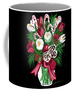 Candy Cane Bouquet Coffee Mug