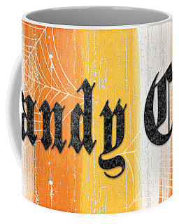 Candy Corn Sign Coffee Mug
