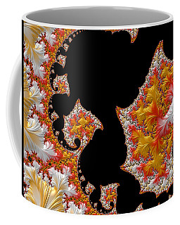 Coffee Mug featuring the digital art Candy Corn by Susan Maxwell Schmidt