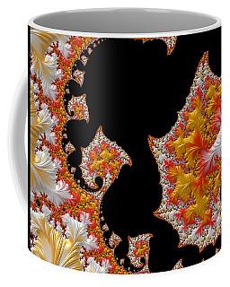 Candy Corn Coffee Mug by Susan Maxwell Schmidt