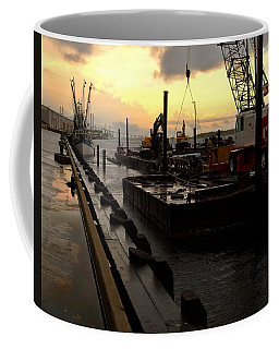 Coffee Mug featuring the photograph 'cane's Comin' by Laura Ragland