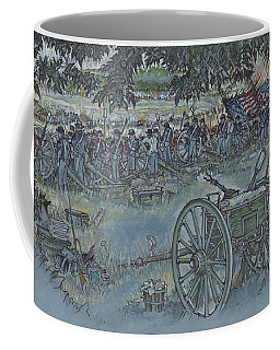 Canister Wait Coffee Mug by Scott and Dixie Wiley