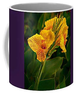 Coffee Mug featuring the photograph Canna Blossom by Mary Jo Allen