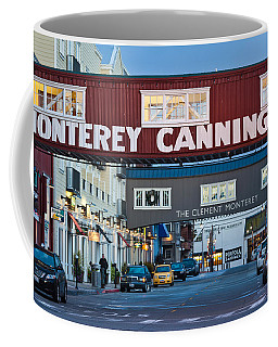 Cannery Row Area At Dawn, Monterey Coffee Mug