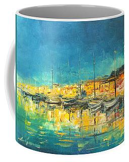 Cannes By Night Coffee Mug