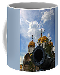 Cannon And Cathedral  - Russia Coffee Mug