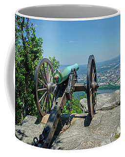 Cannon At Point Park Coffee Mug
