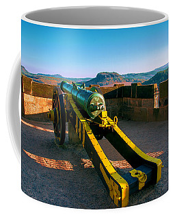 Cannon At The Fortress Koenigstein Coffee Mug