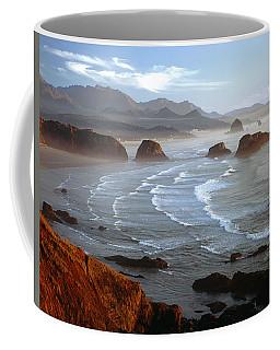 Cannon Beach At Sunset Coffee Mug